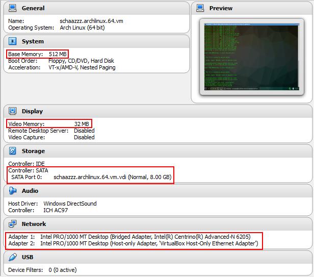 Installing Arch Linux on VirtualBox   Shahzeb Ihsan