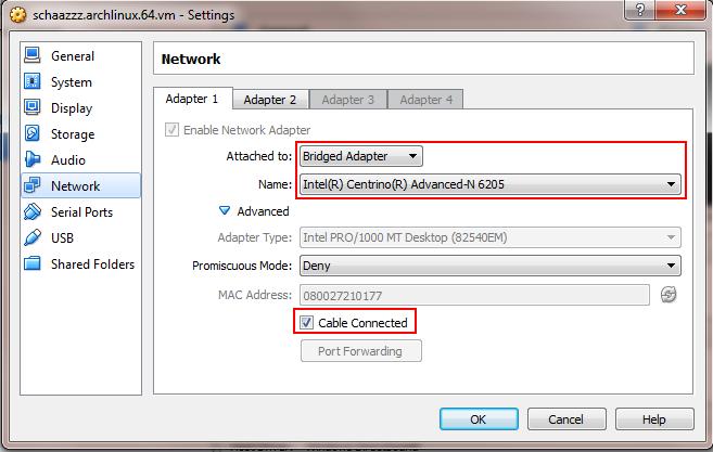 Installing Arch Linux on VirtualBox | Shahzeb Ihsan